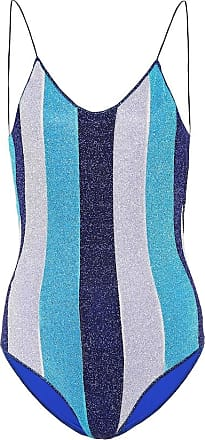 Oséree Exclusive to Mytheresa - Lumière striped one-piece swimsuit