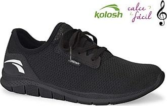 Kolosh Tênis Casual Feminino Kolosh Racer Preto Total K8681