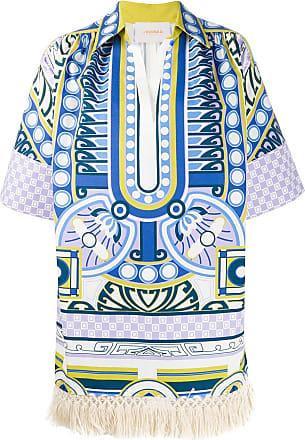 La DoubleJ Honolulu printed tunic - White
