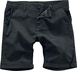 Urban Classics Stretch Turnup Chino Shorts - Short - schwarz