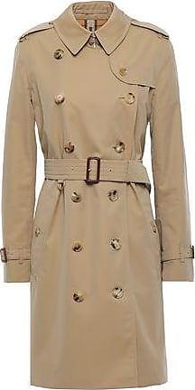 809ad886c4c Burberry Burberry Woman Cotton-gabardine Trench Coat Sand Size 4