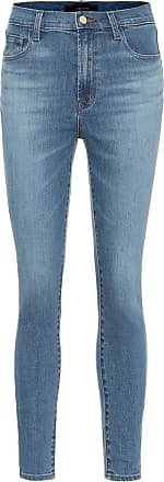 J Brand High-Rise Skinny Jeans Leenah