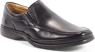 Rafarillo Sapato Masculino Anatômico Em Couro Rafarillo Preto 37