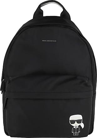 Karl Lagerfeld Ikonik Nylon Backpack Black Rucksack schwarz