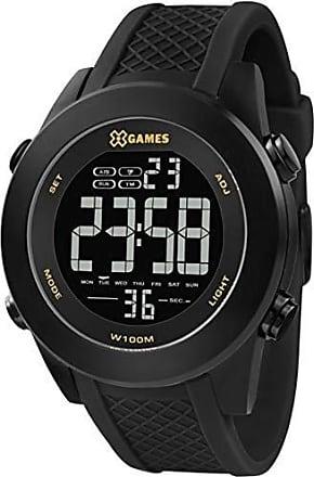 X-Games Relógio Xgames Xteel Masculino Xmnpd001 Pxpx Digital Preto