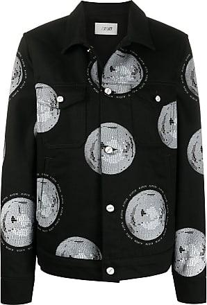 Kirin disco-ball print jacket - Black