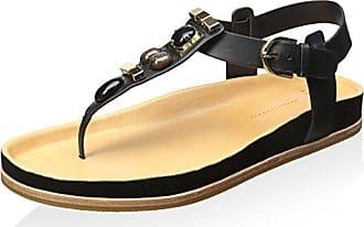 Aerin Womens Adelle Sandal, Black, 8.5 M US