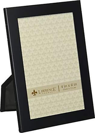 Lawrence Frames Black 4 by 6 Metal Picture Frame