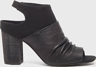 Kelsi Dagger Cardinal Sandals Black Leather WomenS Sandal 6.5