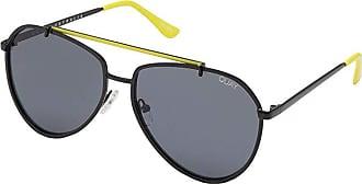 Quay Eyeware Dirty Habit (Black/Smoke) Fashion Sunglasses