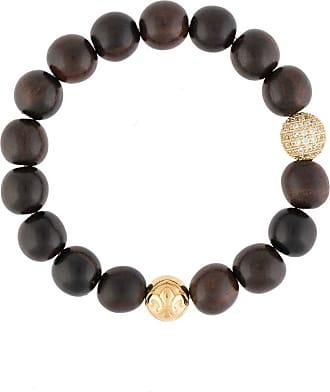 Nialaya wooden bead bracelet - Brown