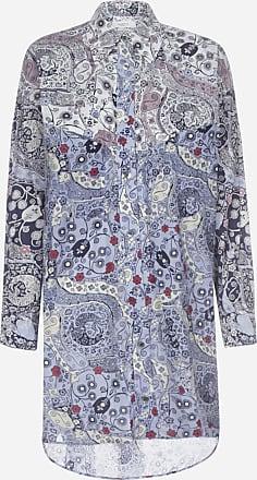 Isabel Marant Ussay printed cotton shirt-tunic - ISABEL MARANT ETOILE - woman