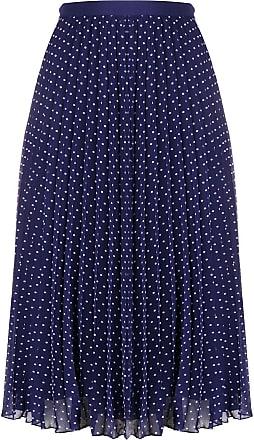 Philosophy di Lorenzo Serafini polka-dot pleated skirt - Blue