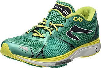 dcc1f11350 Newton Running Fate II Womens Running Shoe Scarpe Donna, Verde  (Green/Yellow)