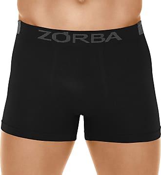 Zorba Cueca Boxer Microfibra Extreme, Zorba, Masculino, Preto, P