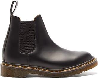 Comme Des Garçons Comme Des Garçons Comme Des Garçons - X Dr. Martens Graeme Leather Chelsea Boots - Womens - Black