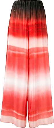 Ingie Paris gradient effect palazzo pants - Vermelho