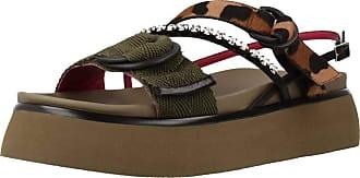 181 Women Sandals and Slippers Women ORIGANO Green 5.5 UK