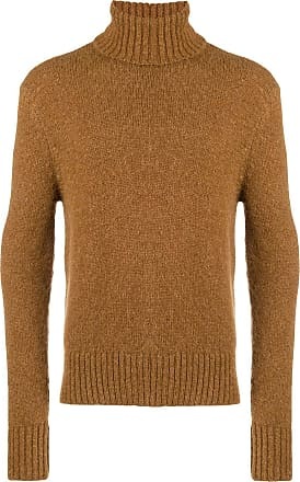 Ami Turtle Neck Sweater - Brown