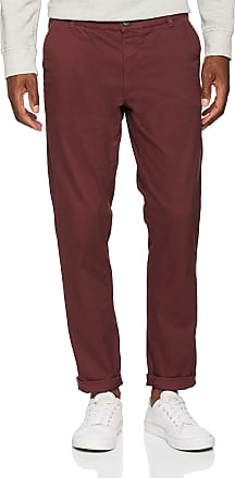 Selected Homme Mens Slhstraight-Paris B. Choco Pants W Noos Trouser, Brown (Bitter Chocolate), W31/L32 (Size: 31)