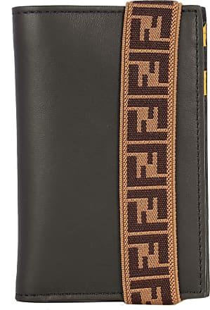 Fendi Luxury Fashion | Fendi Man 7M0265A8VCF17BJ Black Leather Wallet | Season Permanent