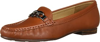Driver Club USA Womens Leather Made in Brazil Chain Buckle Loafer, Jasper Nappa, 9