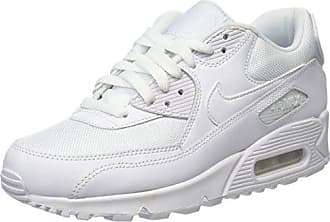 size 40 df430 a4c4f Nike Air Max 90 Essential, Chaussures de Gymnastique Homme,Blanc (White 111)
