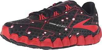 11c805b9710 Brooks Mens Neuro Black High Risk Red Running Shoe 10 Men US