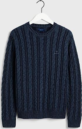 GANT Vintage Pullover mit Zopfmuster