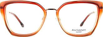 Ana Hickmann Óculos de Grau Ana Hickmann Ah6378 C03/54 Laranja Transparente/dourado
