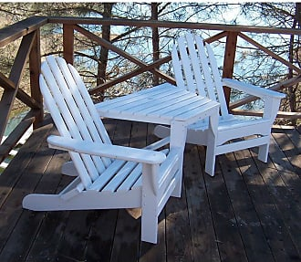 POLYWOOD Outdoor POLYWOOD Classic Recycled Plastic Adirondack Tete-a-Tete Bench Hunter Green - TT4040GR