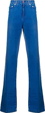 Kiton Hose mit geradem Bein - Blau