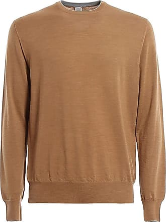 Eleventy Fashion Man A76MAGA16MAG0A02313BROWN Brown Wool Sweater | Spring Summer 20