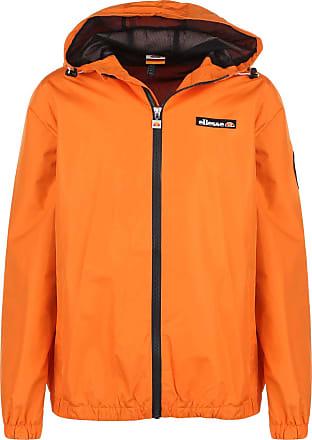 Ellesse Heritage Mens Terrazzo Shell Windbreaker Jacket Orange L