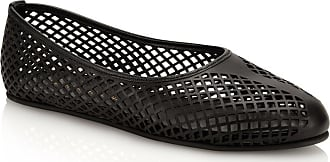 Tamara Mellon Lihi Black Nappa Flats, Size - 35.5