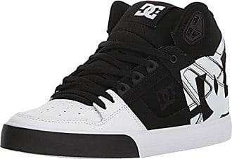 DC Mens Pure HIGH-TOP WC SP Skate Shoe, Black/White, 9.5 D D US