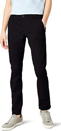 Selected HOMME Mens SHHONELUCA ST PANTS NOOS Trousers,Black (Black),W31/L34
