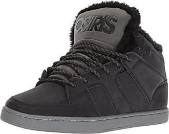 802ddfa44b0d68 Osiris Mens Convoy Mid SHR Skate Shoe Black Charcoal Work 5.5 M US
