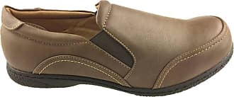 Rohde Ladies Slip ON Flat Soft Walking Comfort Shoes Grip Sole Brown Size 3-7 New (5)