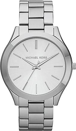 Michael Kors Slim Runway Watch Silver