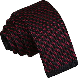 DQT Woven Thin Stripe White Teal Formal Casual Mens Skinny Tie