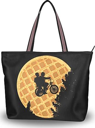 Lorona Women Riding Bikes Canvas Shoulder Hand Bag Large Capacity Tote Bag