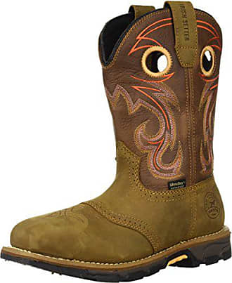Irish Setter Work Womens Marshall Waterproof Steel Toe 9 Pull On Boot, Brown, 7.5 D US
