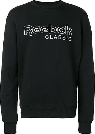 Reebok Moletom com logo - Preto