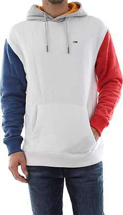 Tommy Jeans DM0DM06054 Colorblock Sweater Men White S