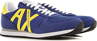 A|X Armani Exchange Sneaker für Herren, Tennisschuh, Turnschuh Günstig im Sale, Elektrisches Bluette, Syntehtische Faser, 2019, 40 41 42 43 44 45 46