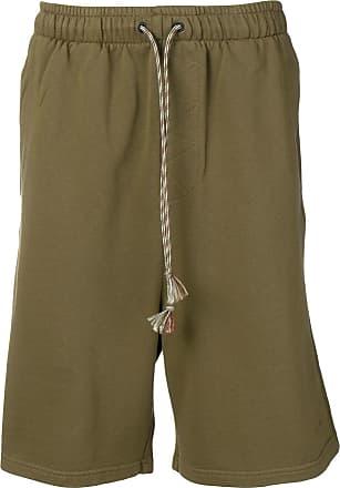 Qasimi elasticated track shorts - Green