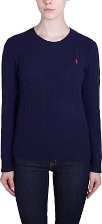 2345b55a17a9 Polo Ralph Lauren Womens Julianna Wool Sweater Navy Size Small UK 10 90%  Merino