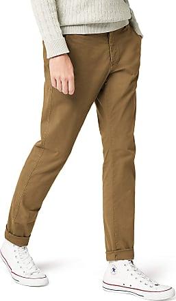 Selected HOMME Mens SHHONELUCA ST PANTS NOOS Trousers,Beige (Camel),W34/L32