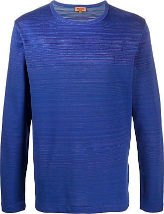 Missoni Suéter mangas longas de tricô - Azul